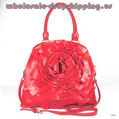 Valentino Fango Nappa Petale handbag red_LRG
